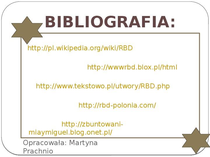 Historia zespołu RBD - Slajd 13