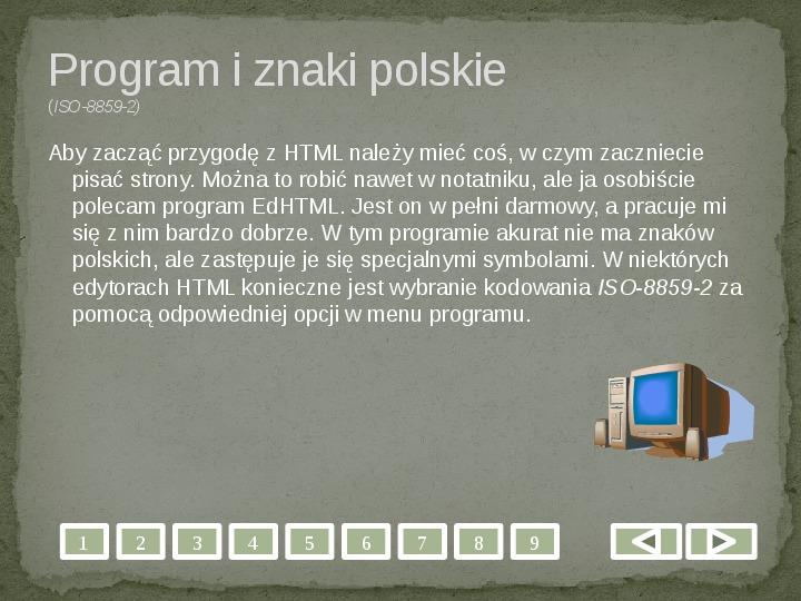 Projektowanie stron WWW - Slajd 2