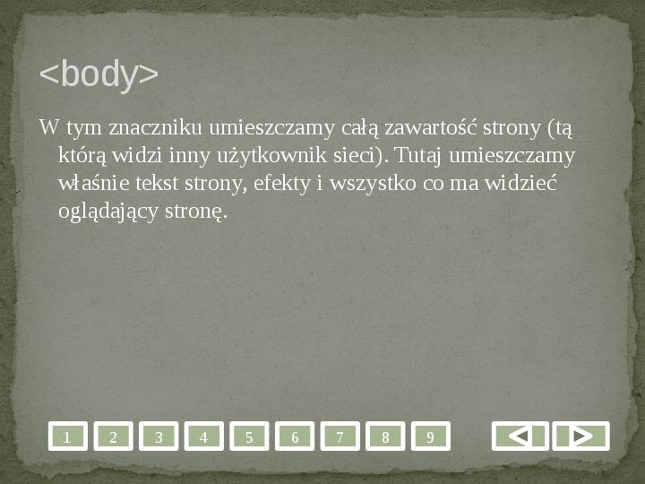 Projektowanie stron WWW - Slajd 5