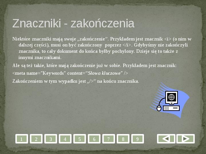 Projektowanie stron WWW - Slajd 6