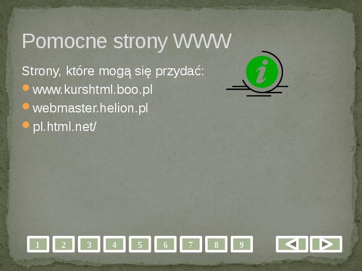 Projektowanie stron WWW - Slajd 10