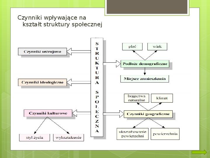 Struktura społeczna i formy organizacji społeczeństw - Slajd 2
