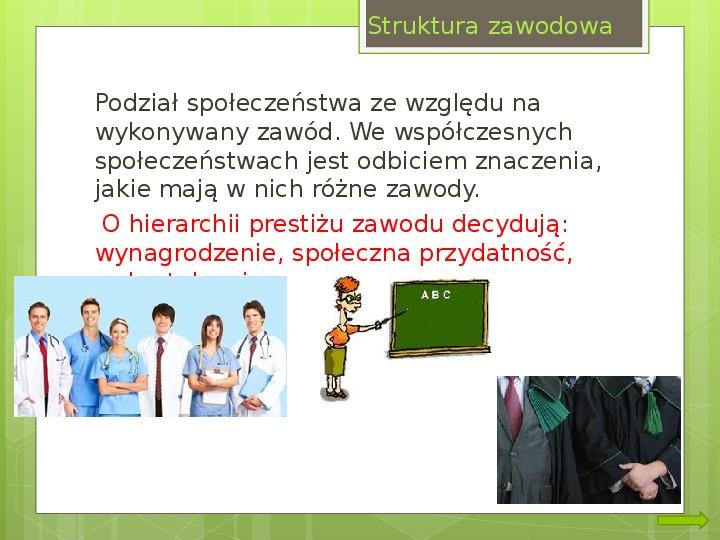 Struktura społeczna i formy organizacji społeczeństw - Slajd 9