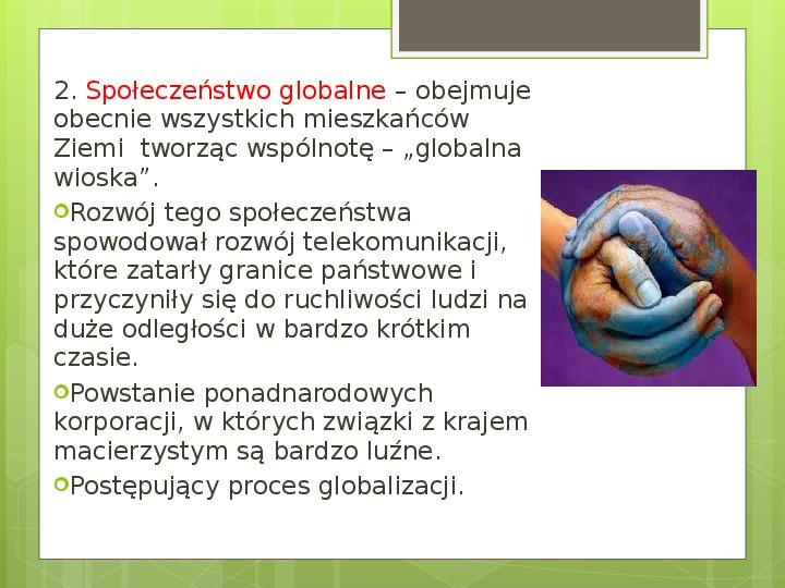 Struktura społeczna i formy organizacji społeczeństw - Slajd 19