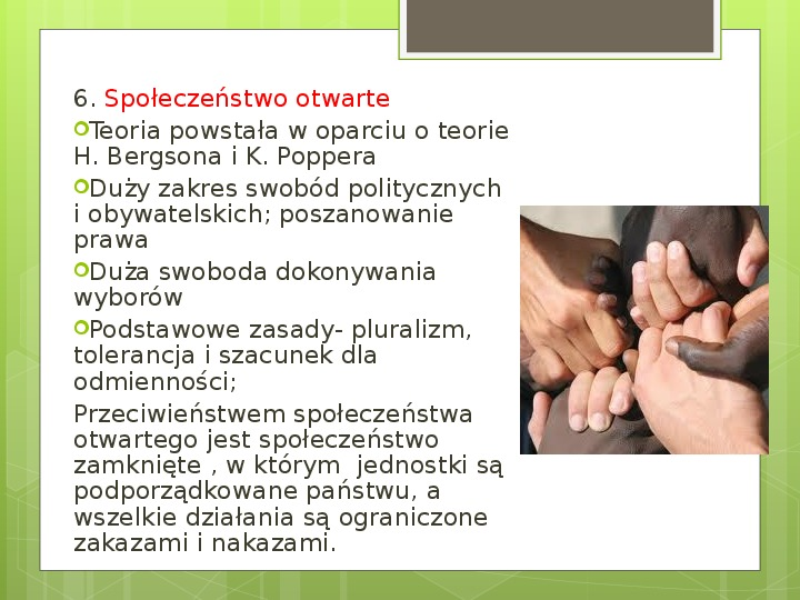 Struktura społeczna i formy organizacji społeczeństw - Slajd 23