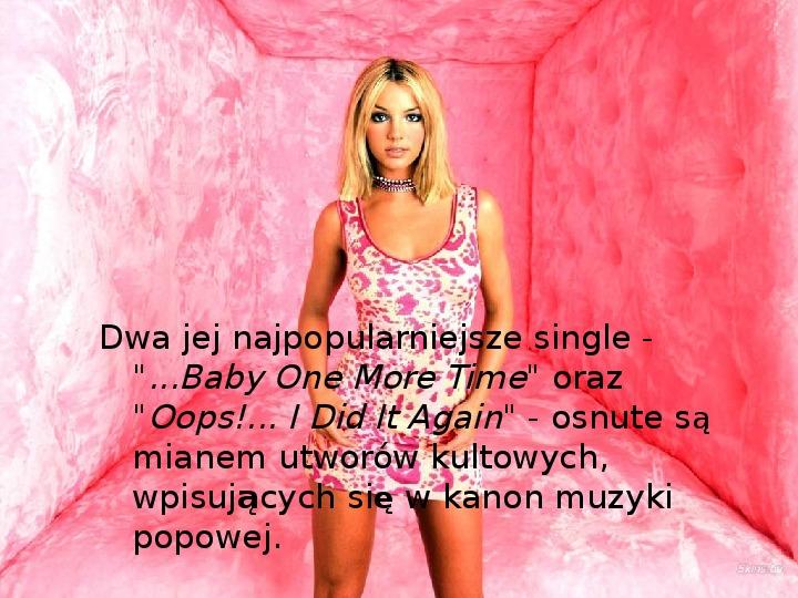 Britney Spears - Życie i kariera - Slajd 12