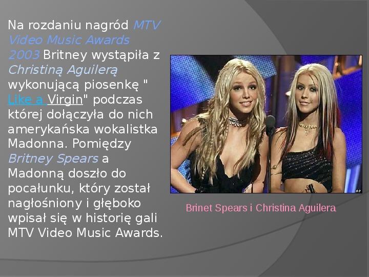 Britney Spears - Życie i kariera - Slajd 24