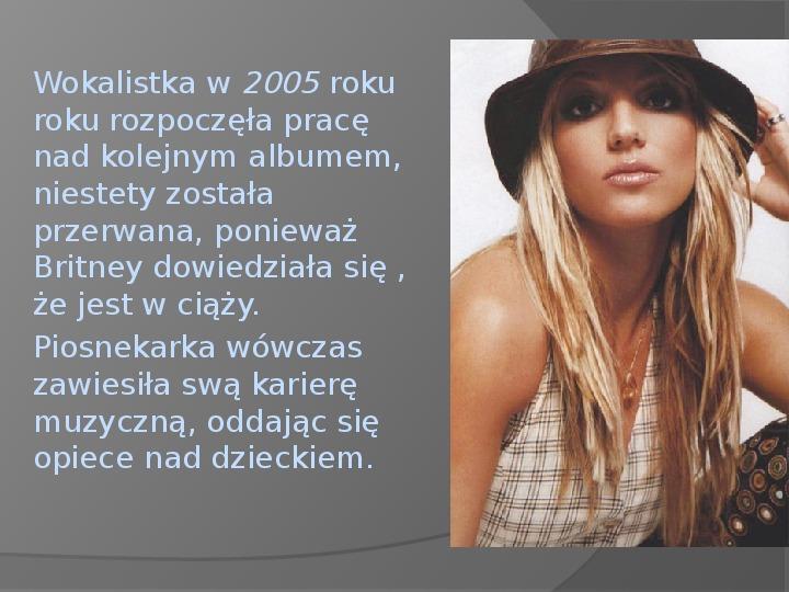 Britney Spears - Życie i kariera - Slajd 25