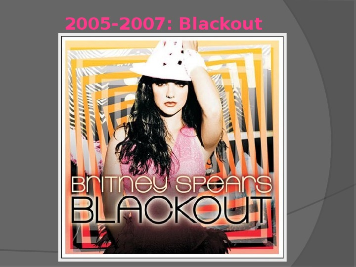 Britney Spears - Życie i kariera - Slajd 26