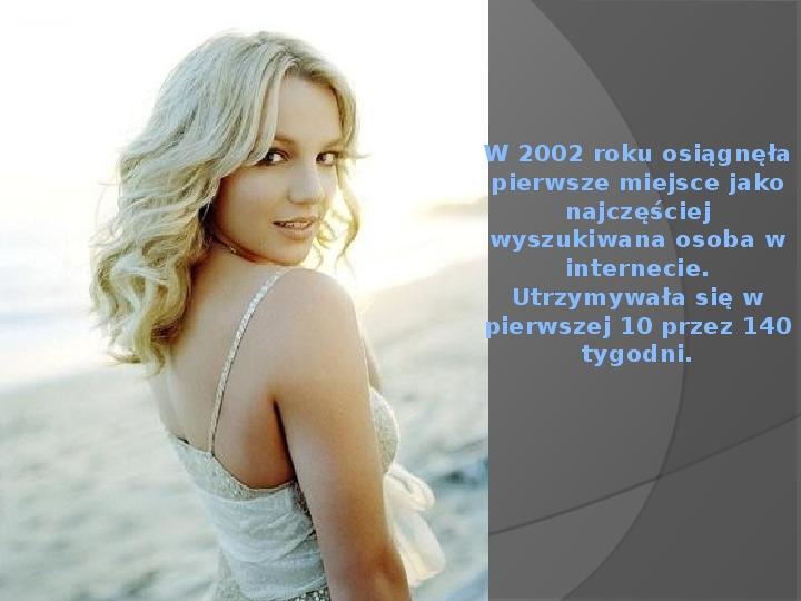 Britney Spears - Życie i kariera - Slajd 35