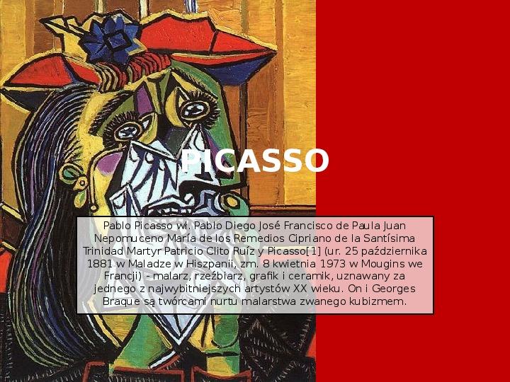 Picasso - Slajd 1
