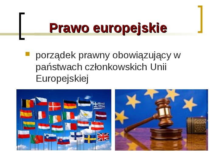 Funkcje i dziedziny prawa - Slajd 8