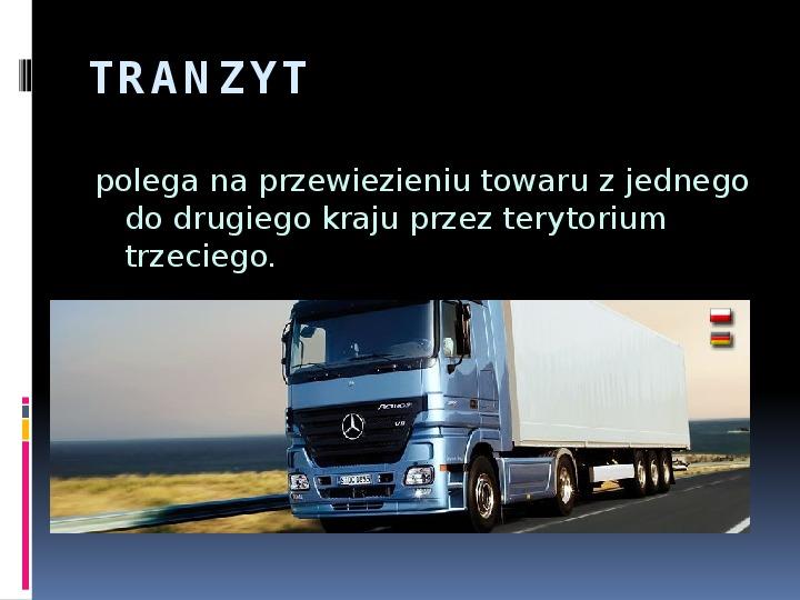 Handel zagraniczny - Slajd 8