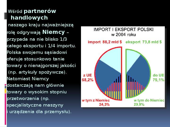 Handel zagraniczny - Slajd 17