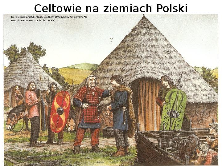 Celtowie na ziemiach Polski - Slajd 1