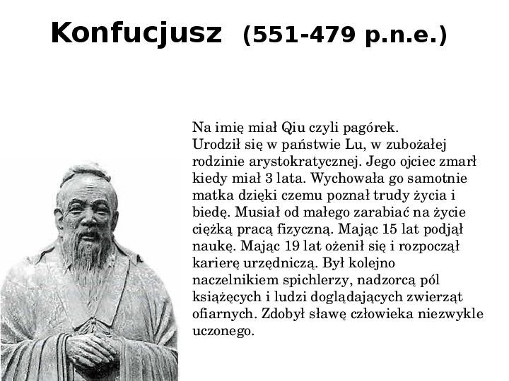 Konfucjanizm - Slajd 2
