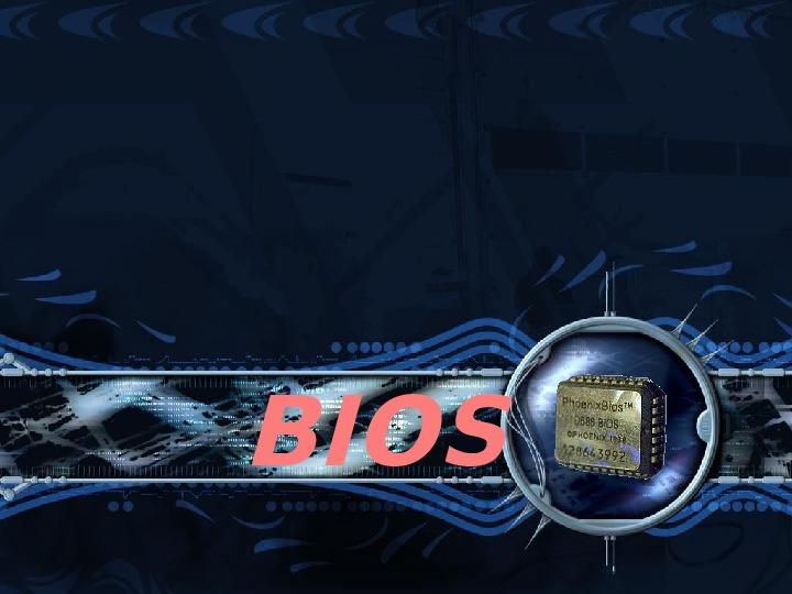BIOS - Slajd 1