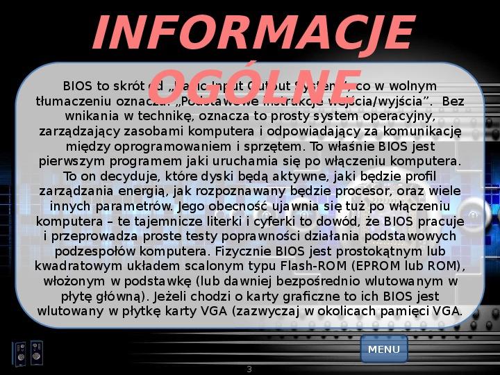 BIOS - Slajd 2
