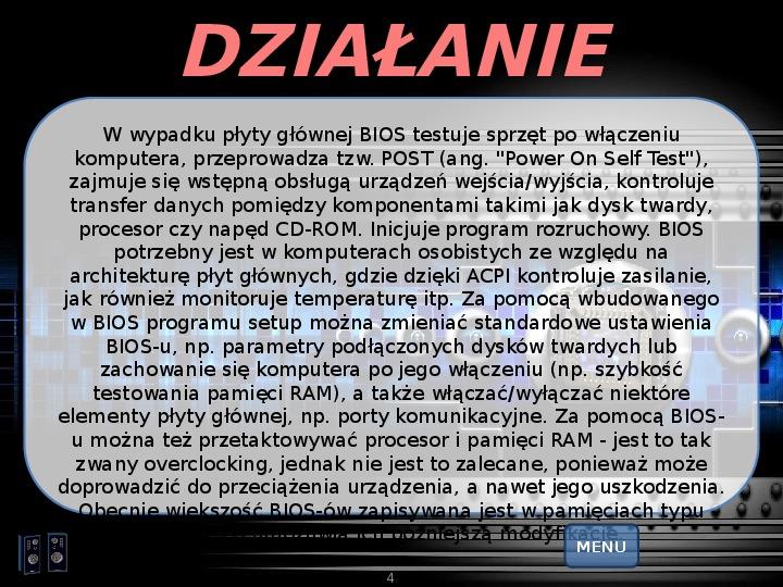 BIOS - Slajd 3