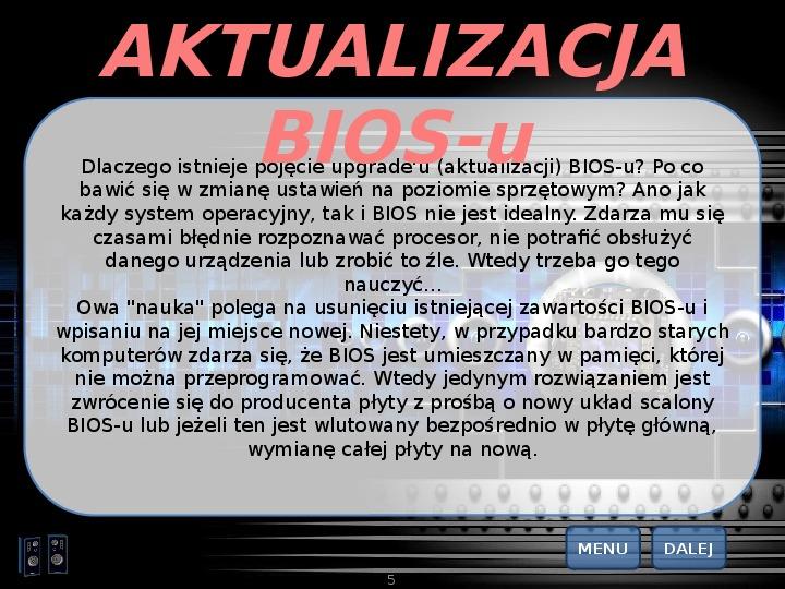 BIOS - Slajd 4