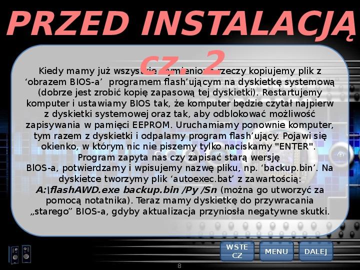 BIOS - Slajd 7