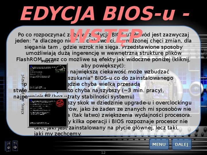 BIOS - Slajd 11