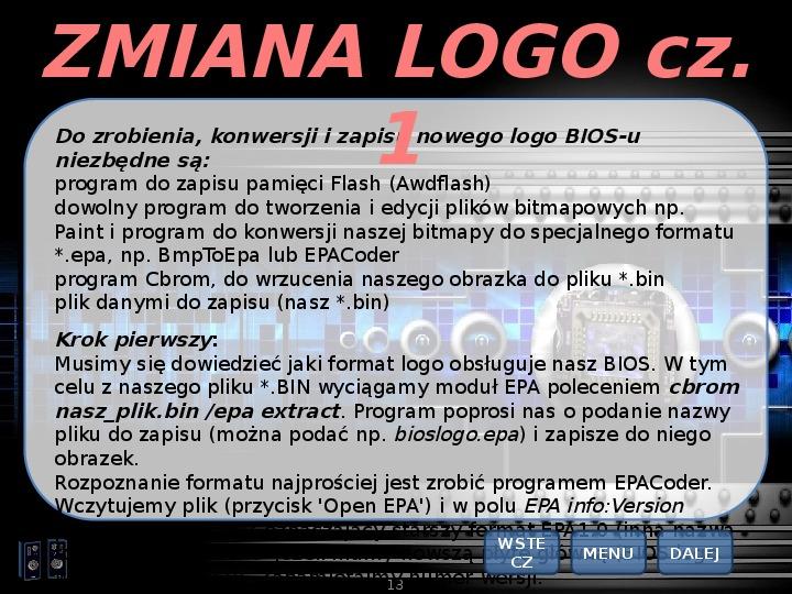 BIOS - Slajd 17