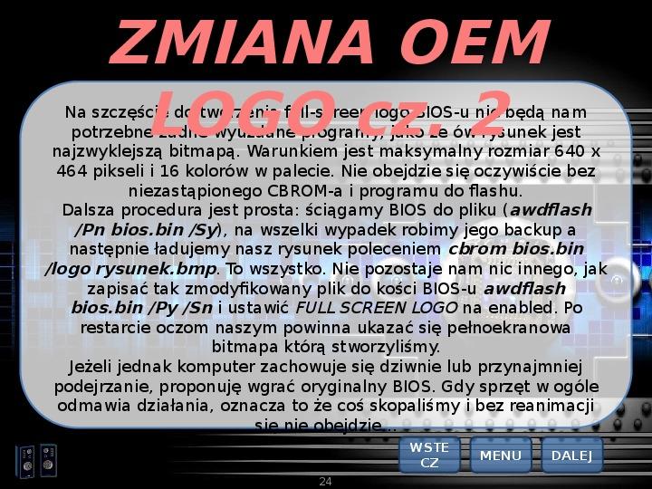 BIOS - Slajd 23
