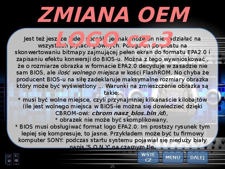 BIOS - Slajd 24