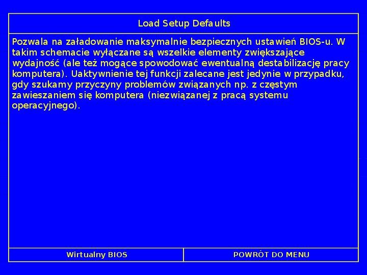 BIOS - Slajd 53