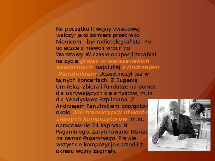 Witold Lutosławski - Slajd 2