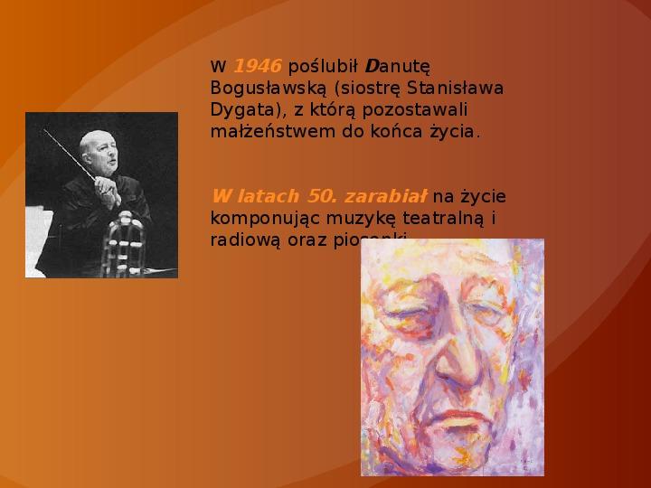 Witold Lutosławski - Slajd 3