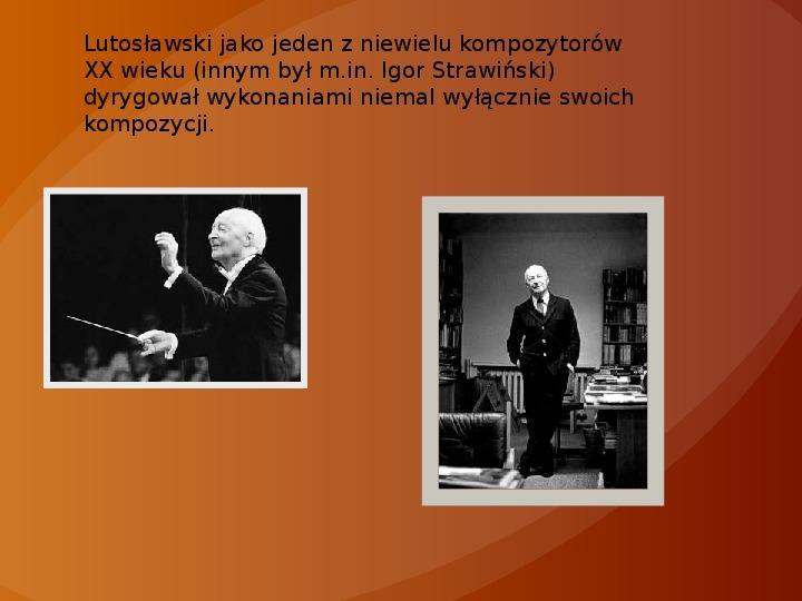 Witold Lutosławski - Slajd 7