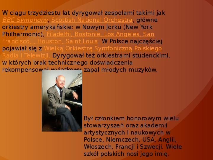 Witold Lutosławski - Slajd 10