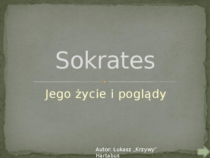 Sokrates - Slajd 1