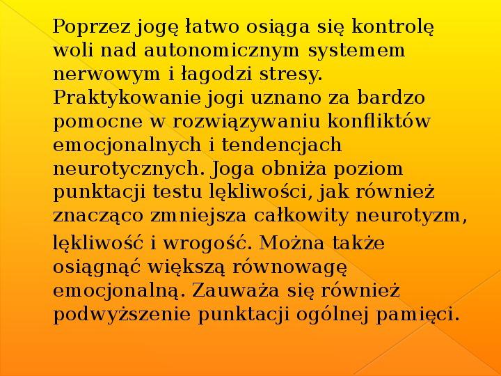 Joga - Slajd 7