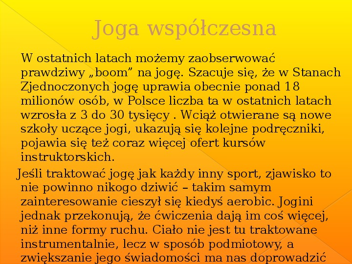 Joga - Slajd 21