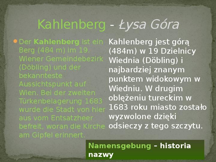 Wiedeń - Slajd 7