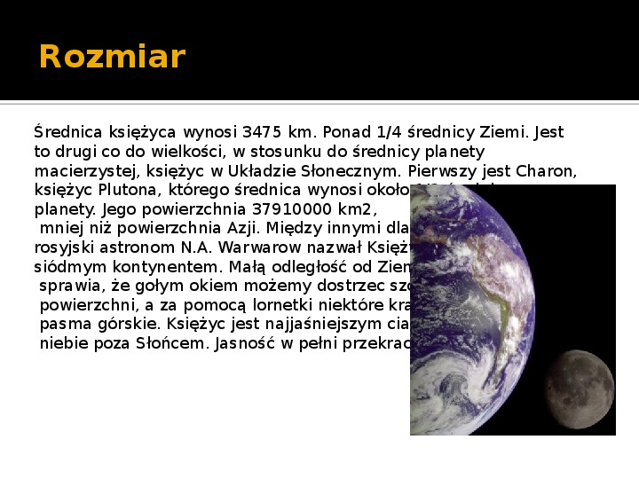 Księżyc - Slajd 2