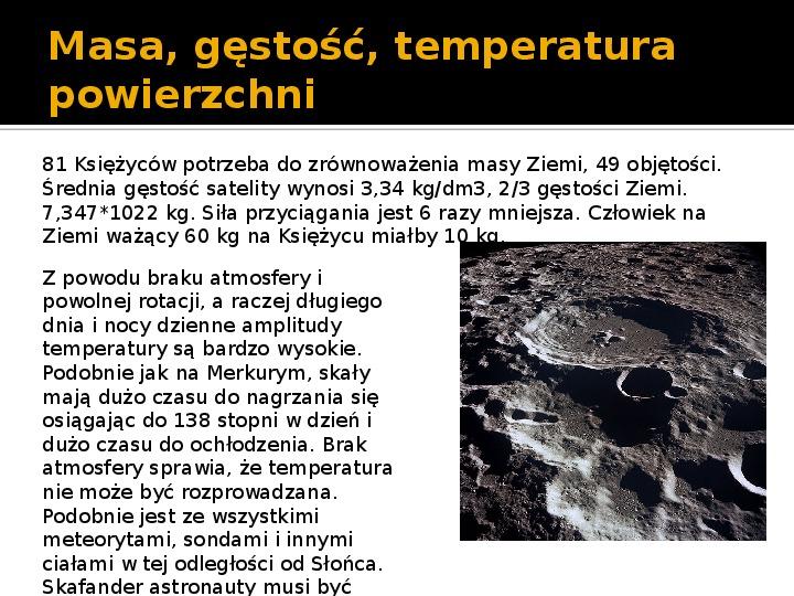 Księżyc - Slajd 3