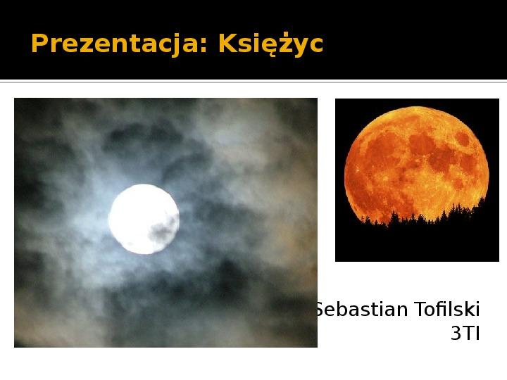 Księżyc - Slajd 14
