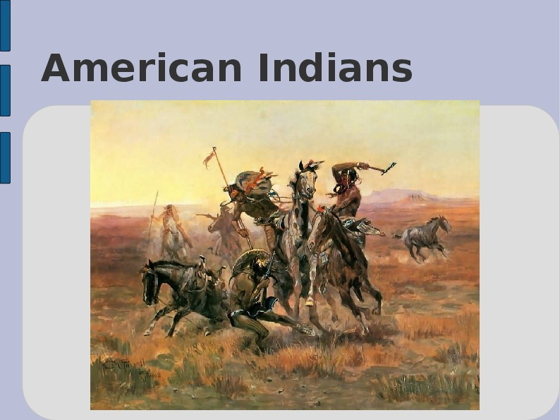 Indianie - Slajd 1