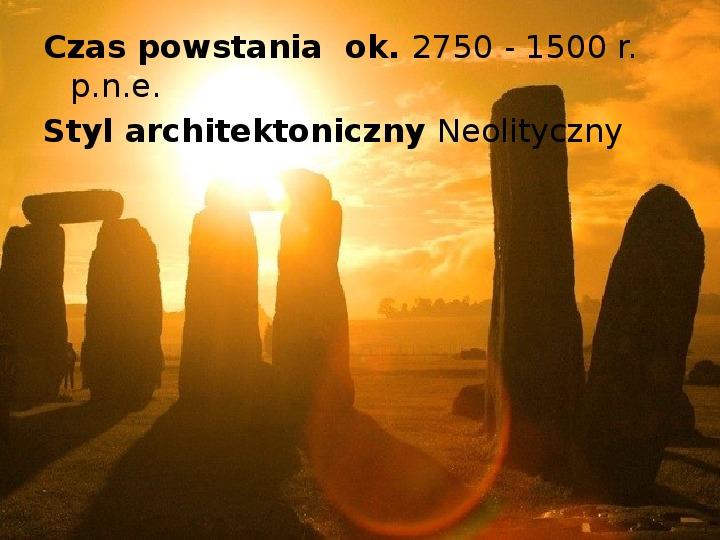 Tajemnica  Stonehenge - Slajd 3