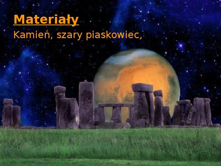 Tajemnica  Stonehenge - Slajd 4