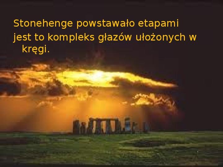 Tajemnica  Stonehenge - Slajd 5