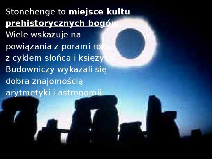 Tajemnica  Stonehenge - Slajd 6