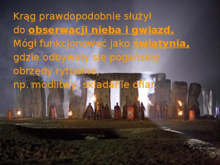Tajemnica  Stonehenge - Slajd 7