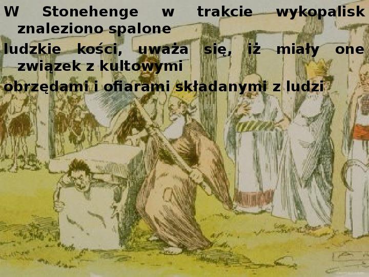 Tajemnica  Stonehenge - Slajd 8