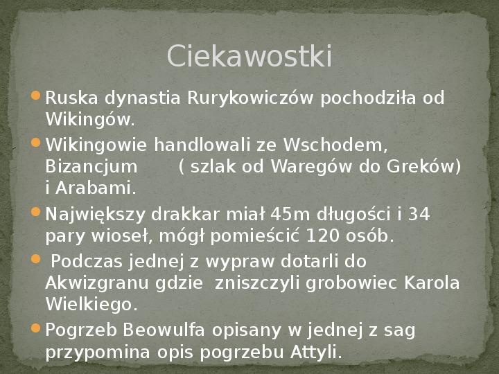 Wikingowie - Slajd 21