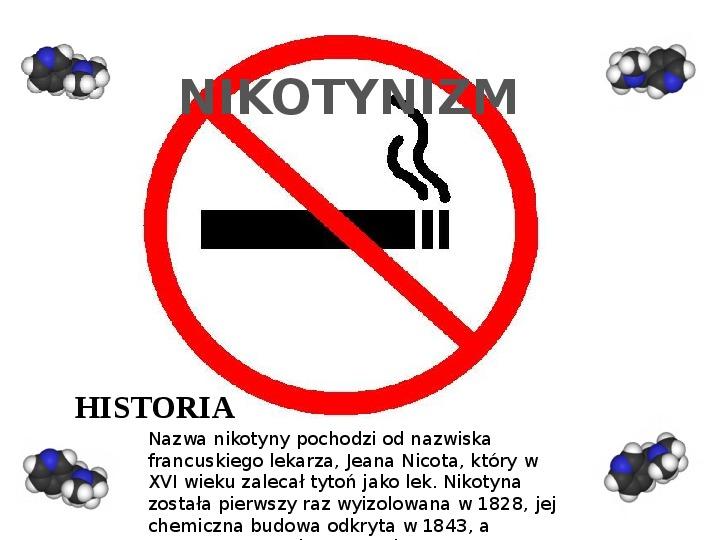 Nikotynizm - Slajd 0